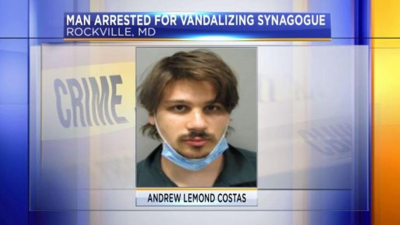 Aux USA, un homme, qui dit être l'Antéchrist, vandalise une église et une synagogue ! Costas