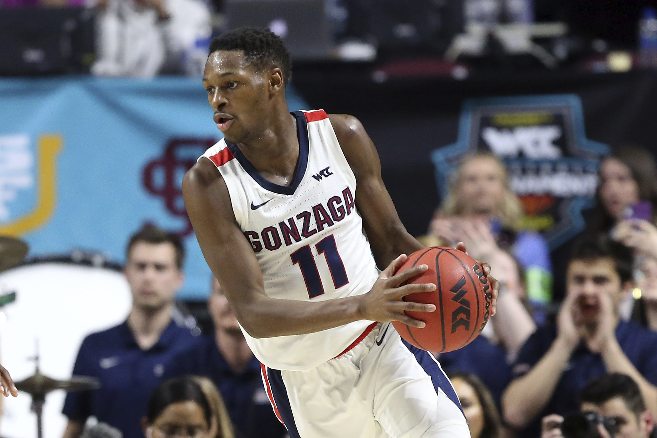 Gonzaga's Ayayi declares for NBA draft, won't hire agent – WDVM25 ...
