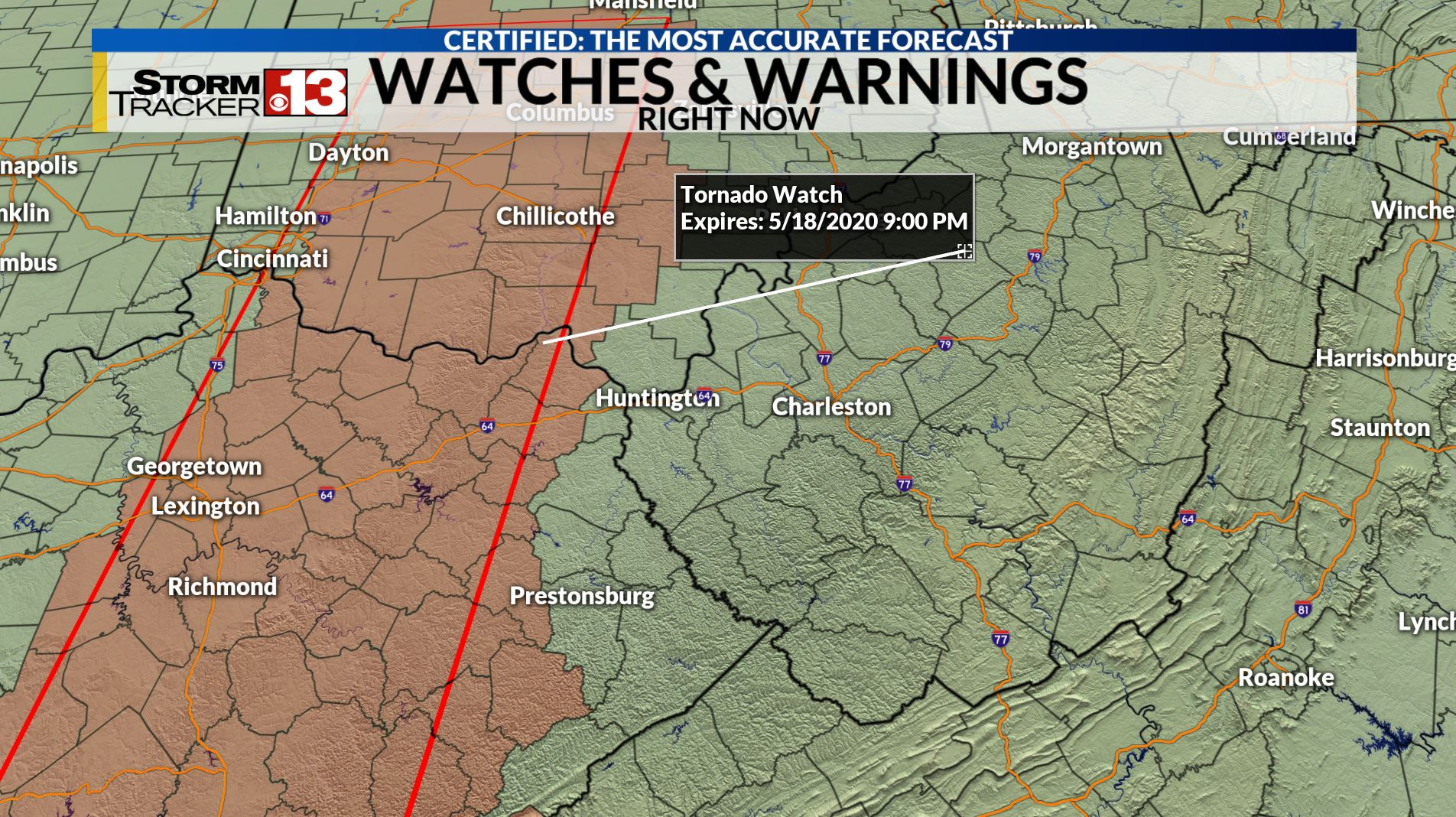 Tornado Watch Issued For Parts Of West Virginia Severe Weather Possible Tonight Wdvm25 Dcw50 Washington Dc Detailed weather forecast for today, tomorrow, the week, 10 days, and the month on yandex.weather. tornado watch issued for parts of west