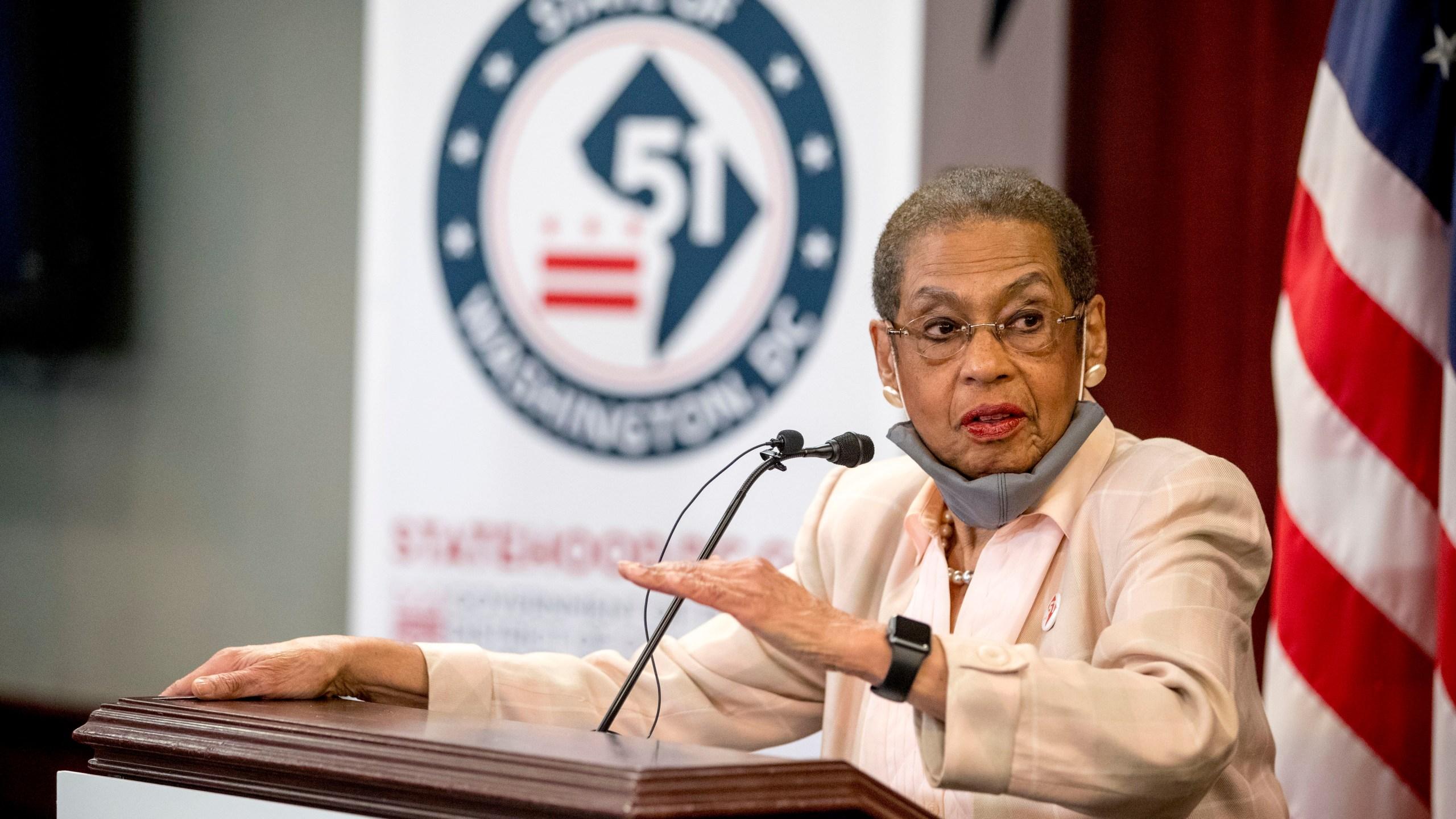 Congresswoman Norton introduces D.C. statehood bill | WDVM25 & DCW50 | Washington, DC