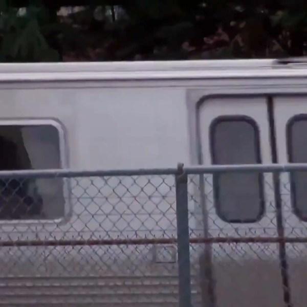 File image of a metro car.